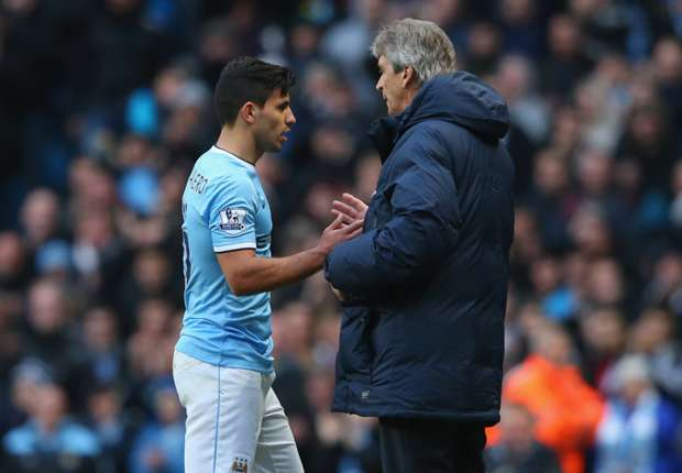 Manchester City striker Aguero motivated by Pellegrini praise