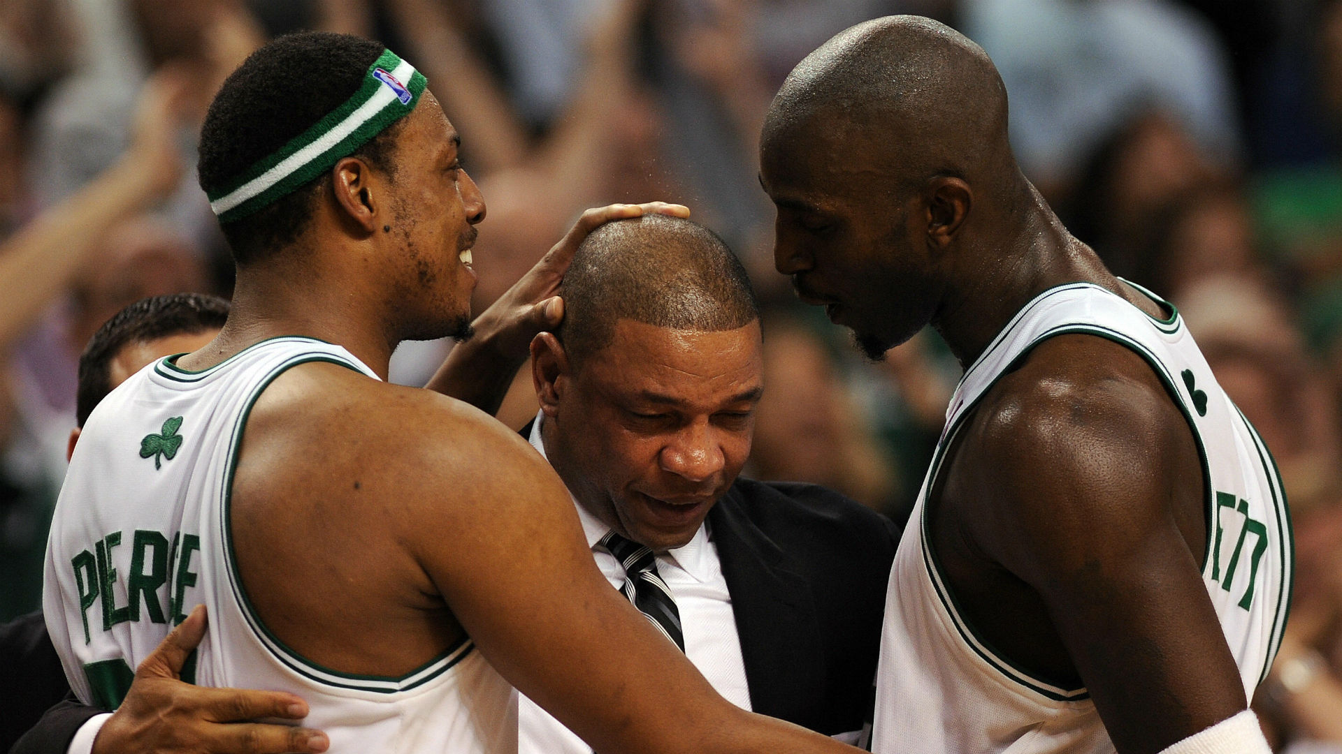Kevin Garnett reunites with Doc Rivers Paul Pierce as Clippers