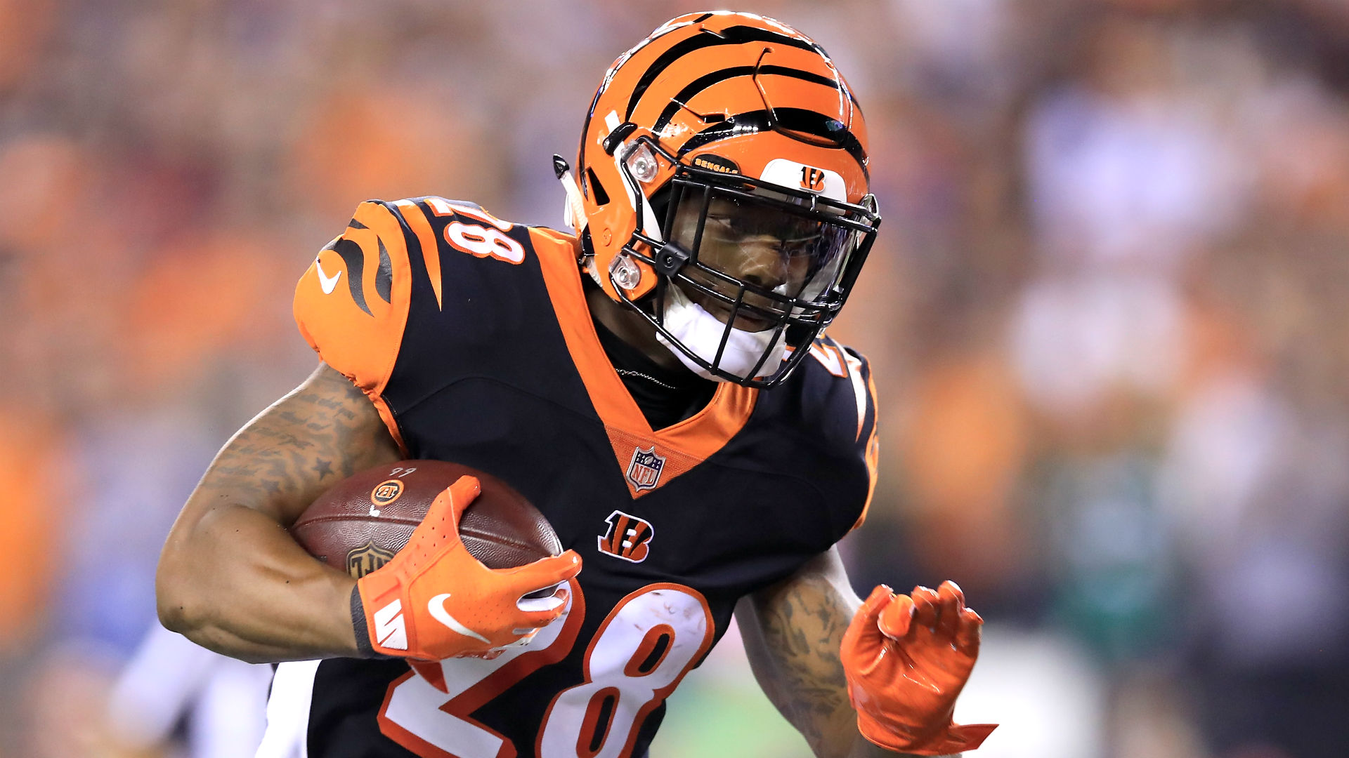 Joe Mixon returns vs. Ravens