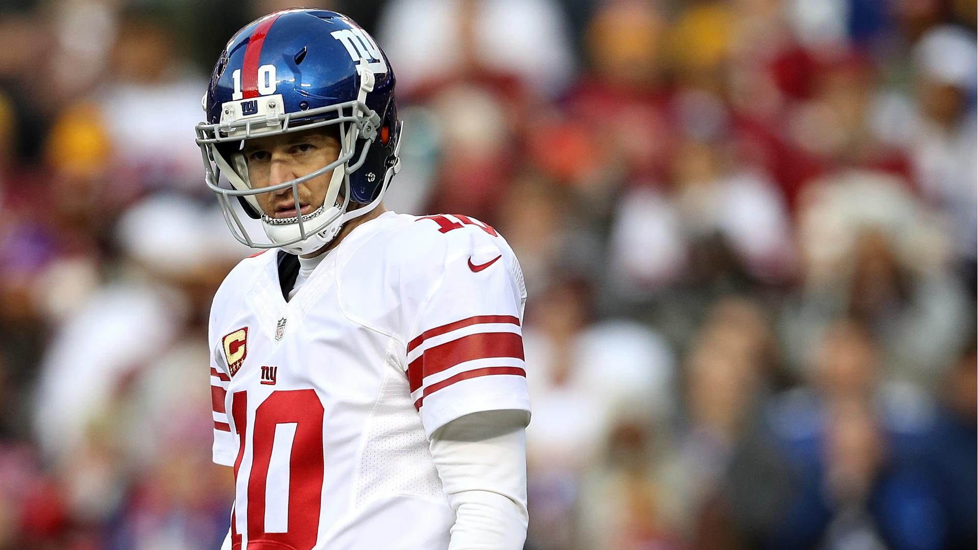 Giants to Eli Manning: Focus on performing, not Davis Webb