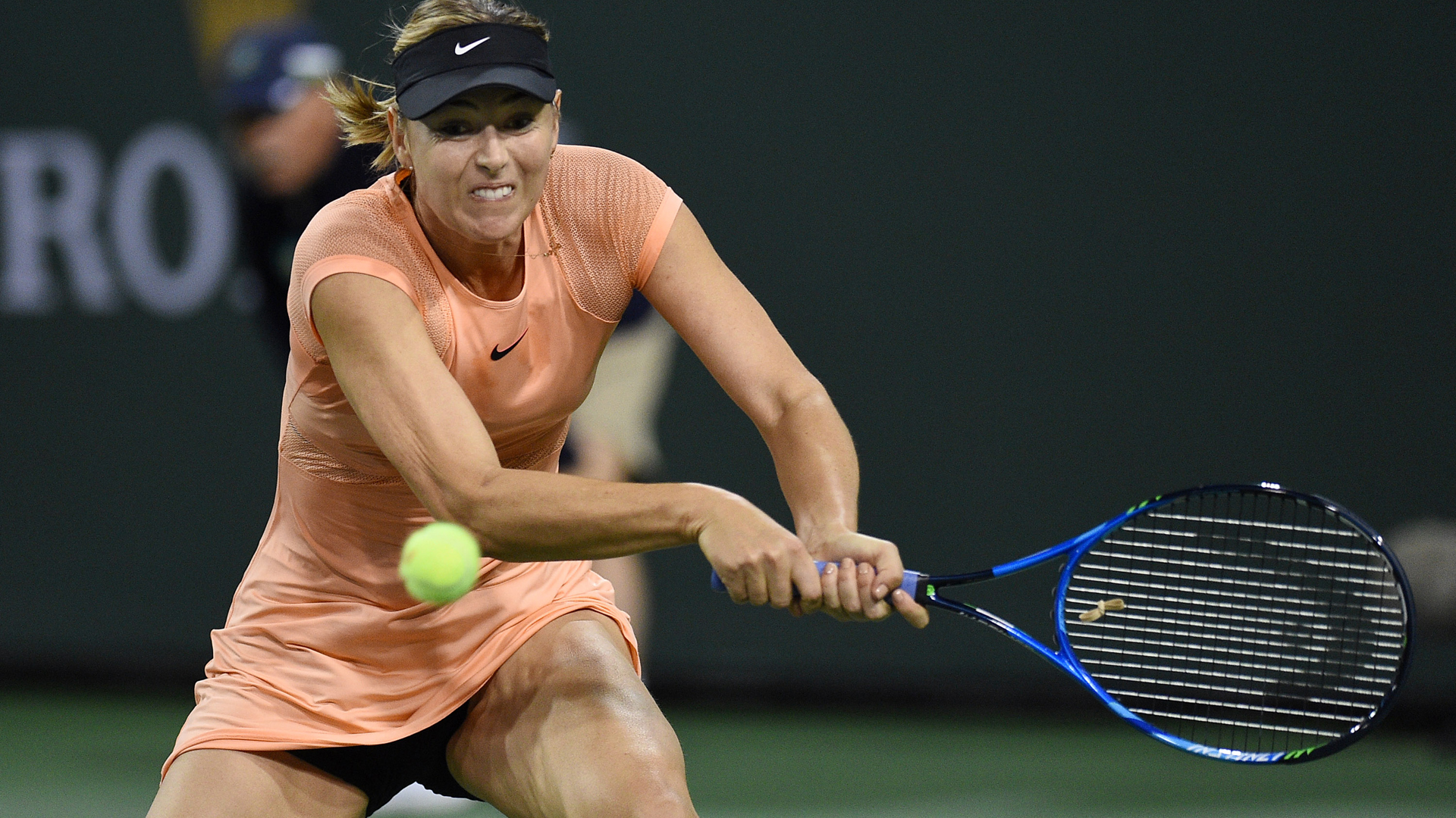 Maria Sharapova upset in 1st round at Indian Wells