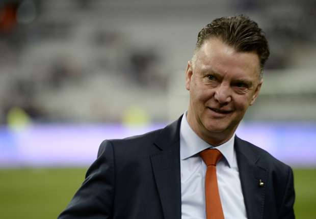 Netherlands coach Louis van Gaal