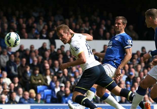 Everton 0-1 Tottenham: Kane fires Spurs back into the Europa League