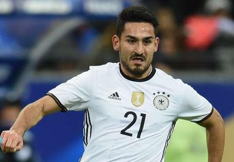 Gundogan maakt rentree bij Duitsland