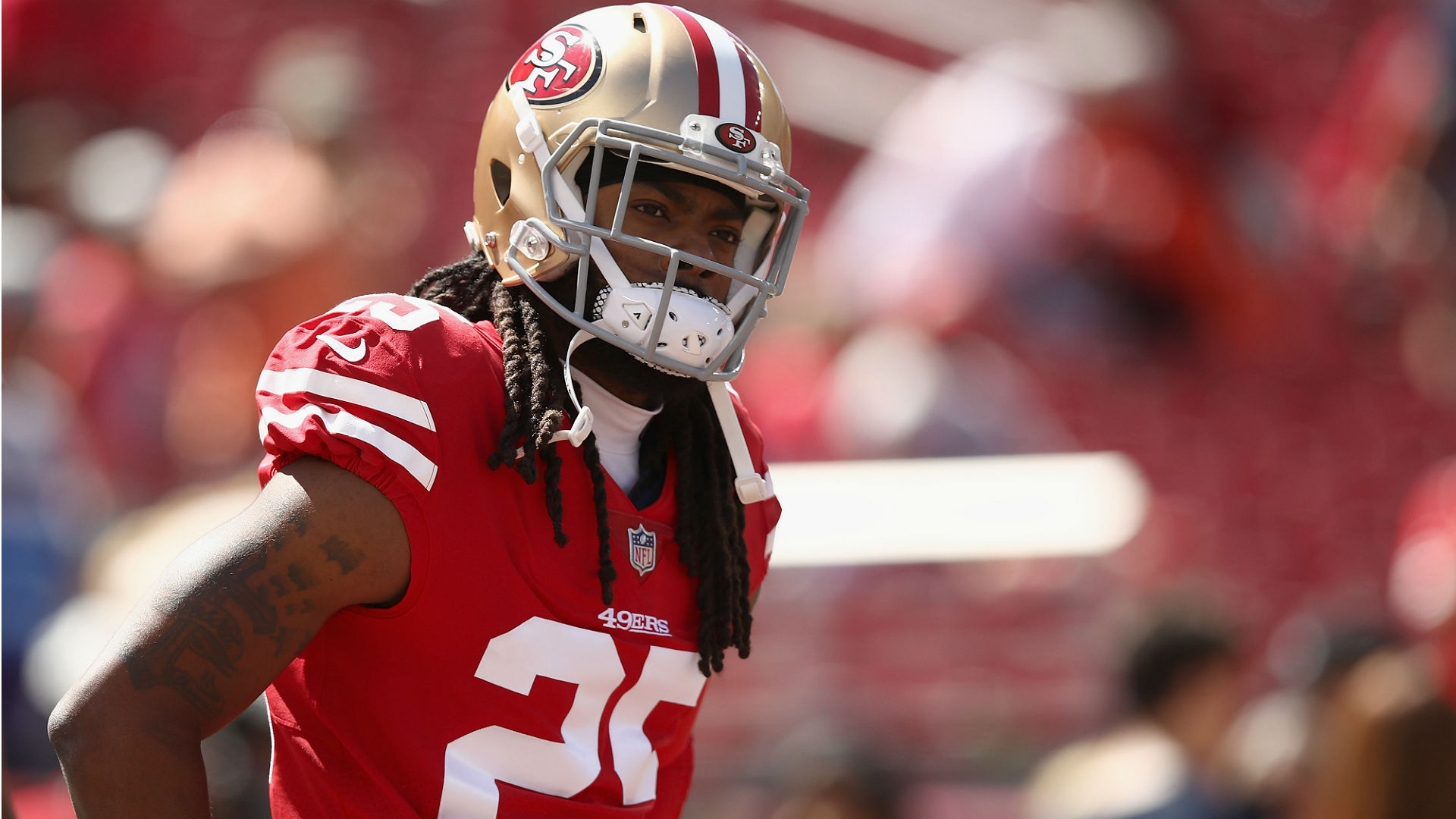 49ers GM on Richard Sherman switching positions: 'Slow down there'