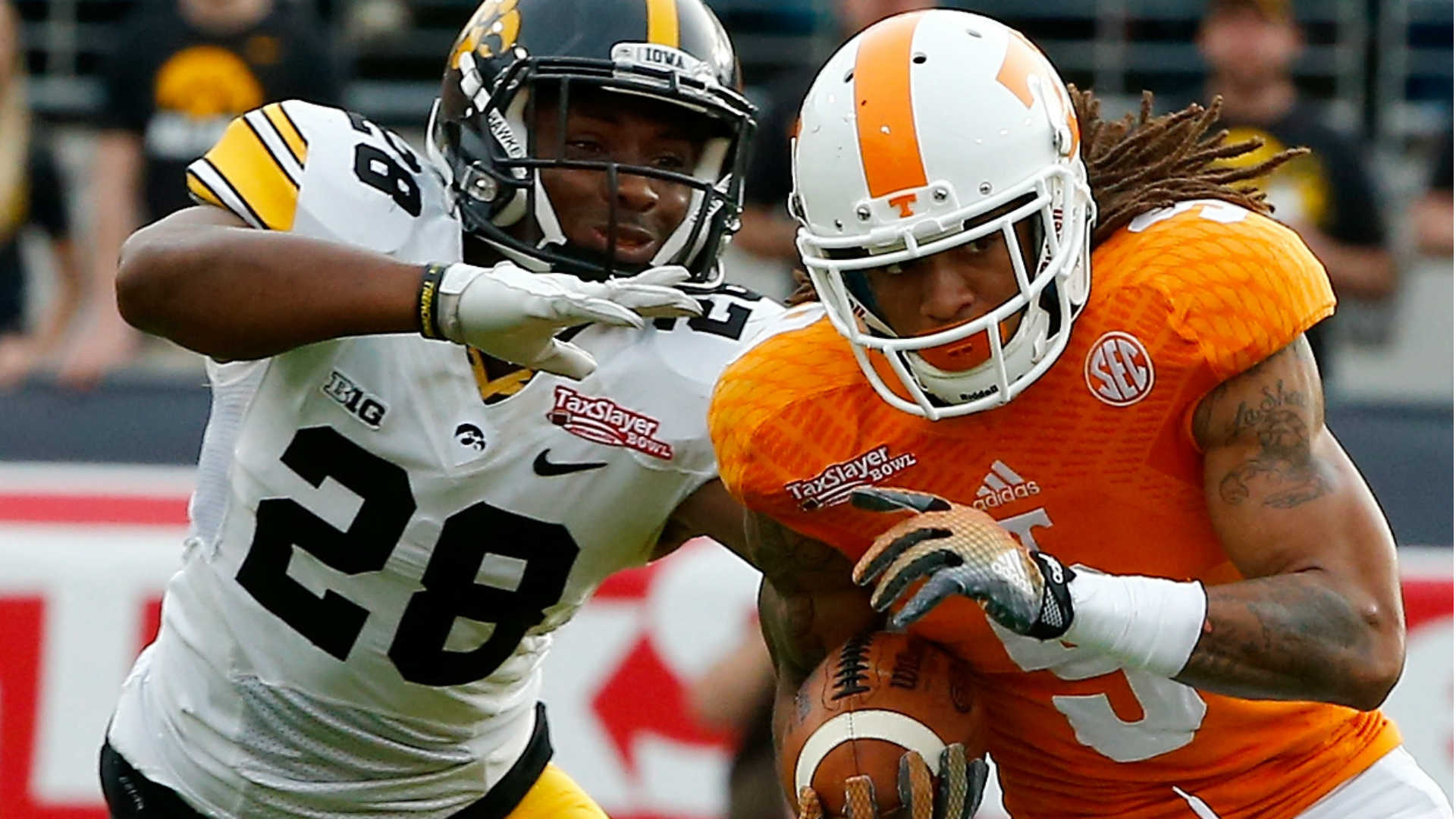 Tennessee WR Von Pearson suspect in alleged rape