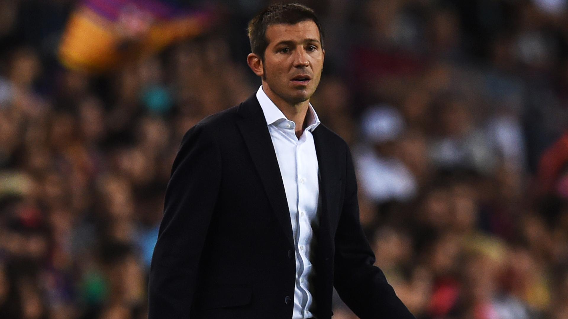 Valencia coach Albert Celades