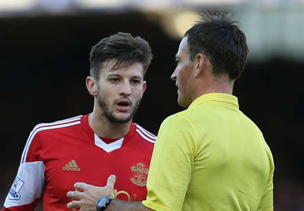 FA not taking action against Clattenburg over Lallana comments