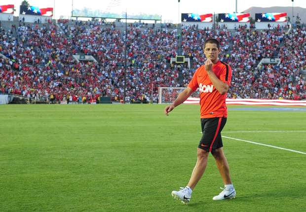 Chicharito on Manchester United future: 'Only God knows'