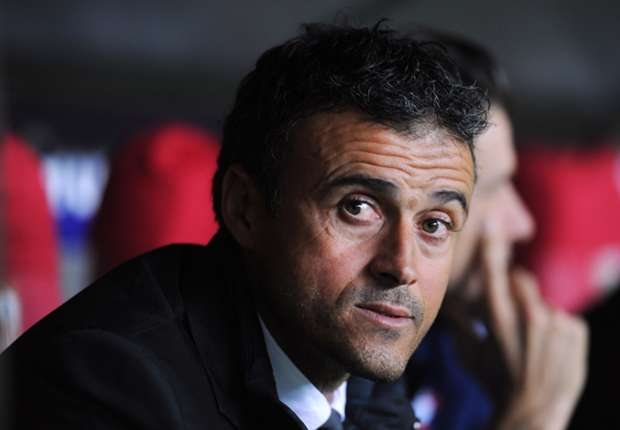 Celta Vigo coach Luis Enrique