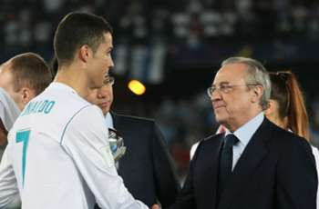 Perez keen for 'spectacular' Ronaldo to retire at Real Madrid