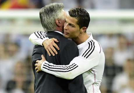 Fans, Ronaldo United In Ancelotti Support