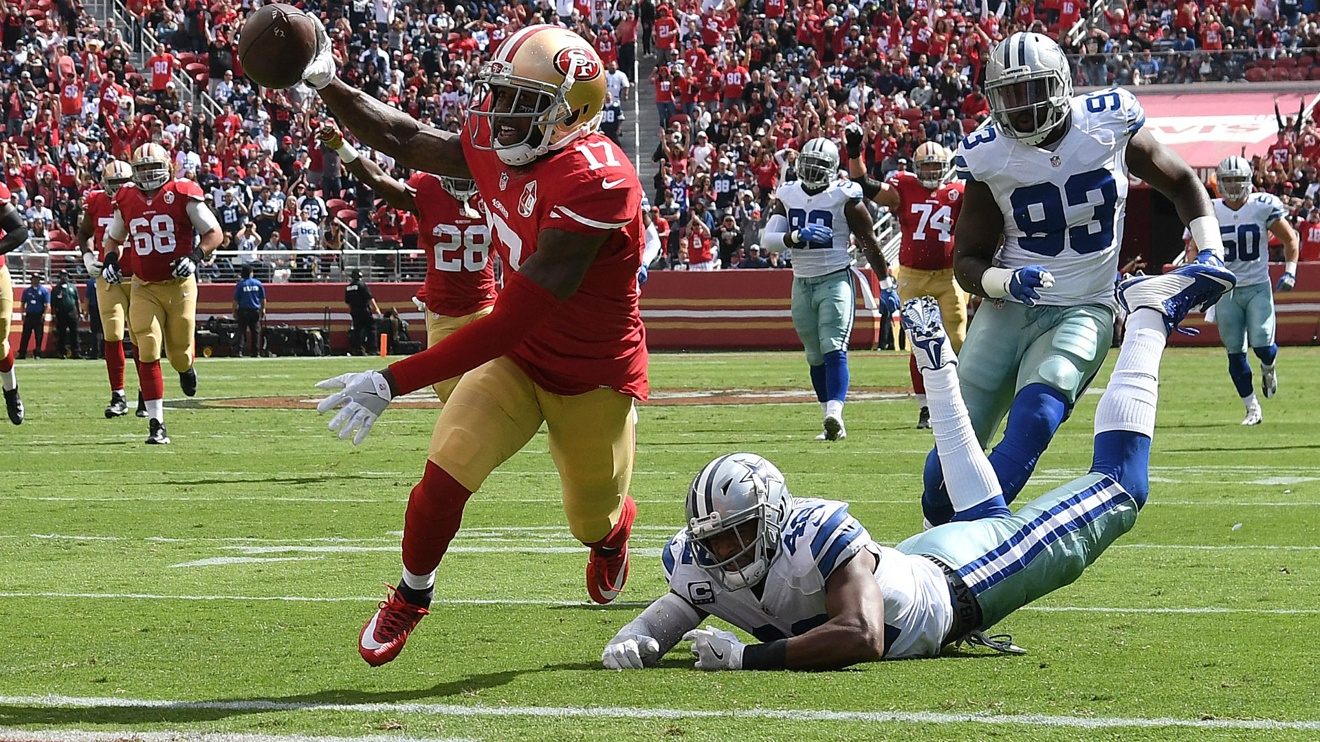 49ers re-sign leading receiver Jeremy Kerley to 3-year deal