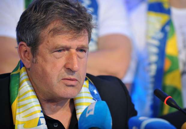 Safet Susic, director técnico de Bosnia.