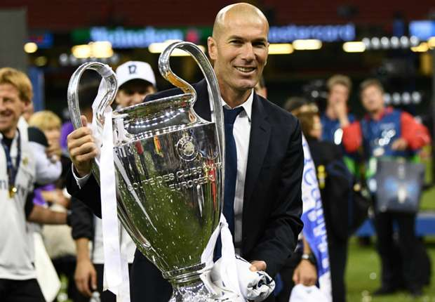 'Symbolic figure' Zidane has become the best coach in the world, says Perez