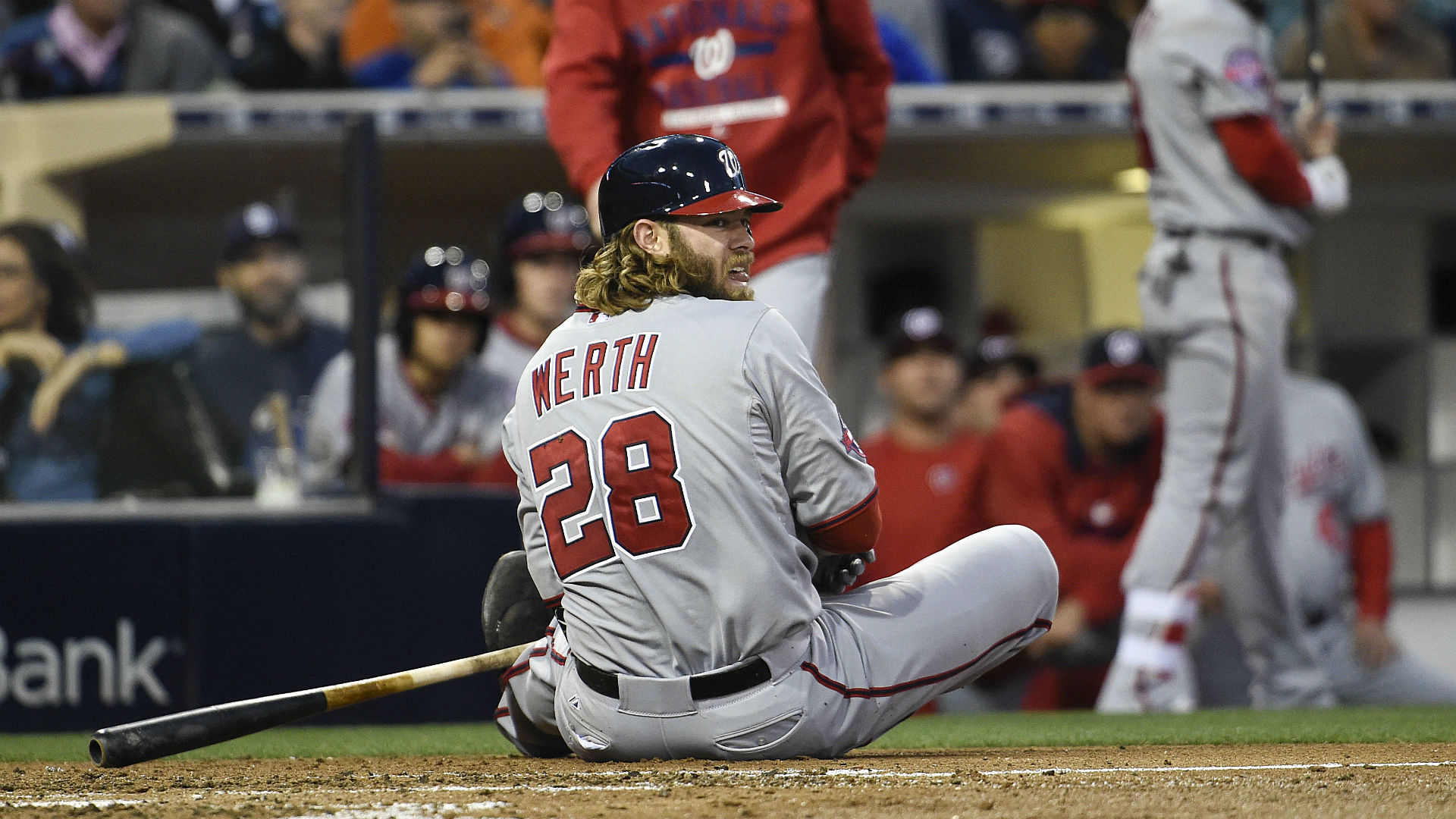 Jayson Werth reportedly has broken wrist, out until at least August