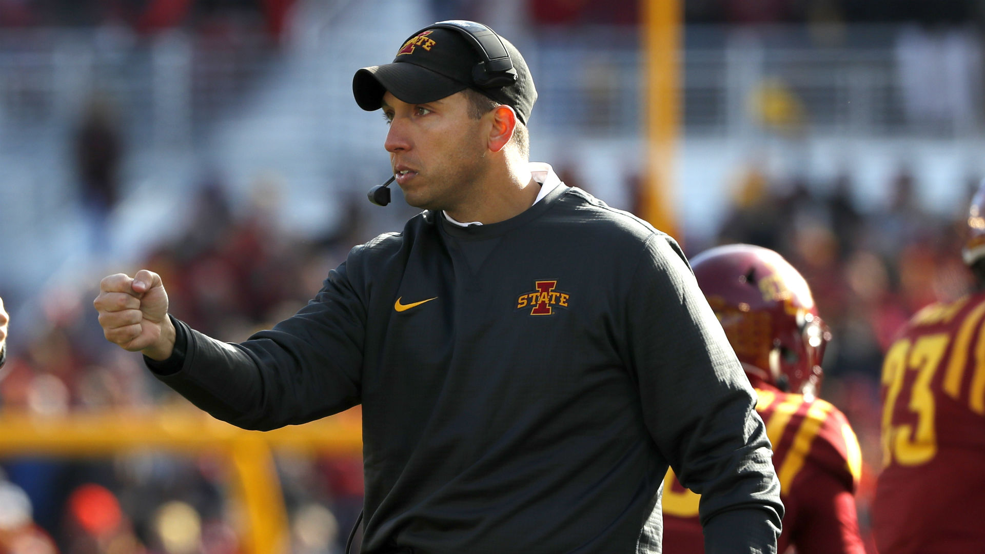 Iowa State takes Matt Campbell off market with a 6-year extension