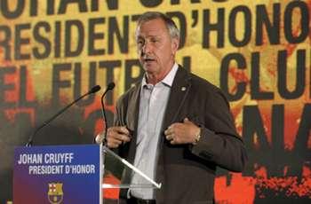 Cruyff feels '2-0 up' in cancer battle