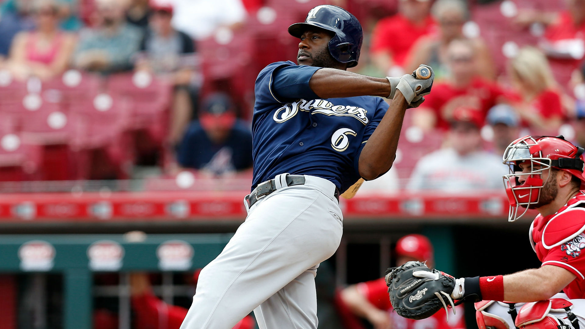 Lorenzo Cain injury update: Brewers outfielder leaves game after HBP on hand