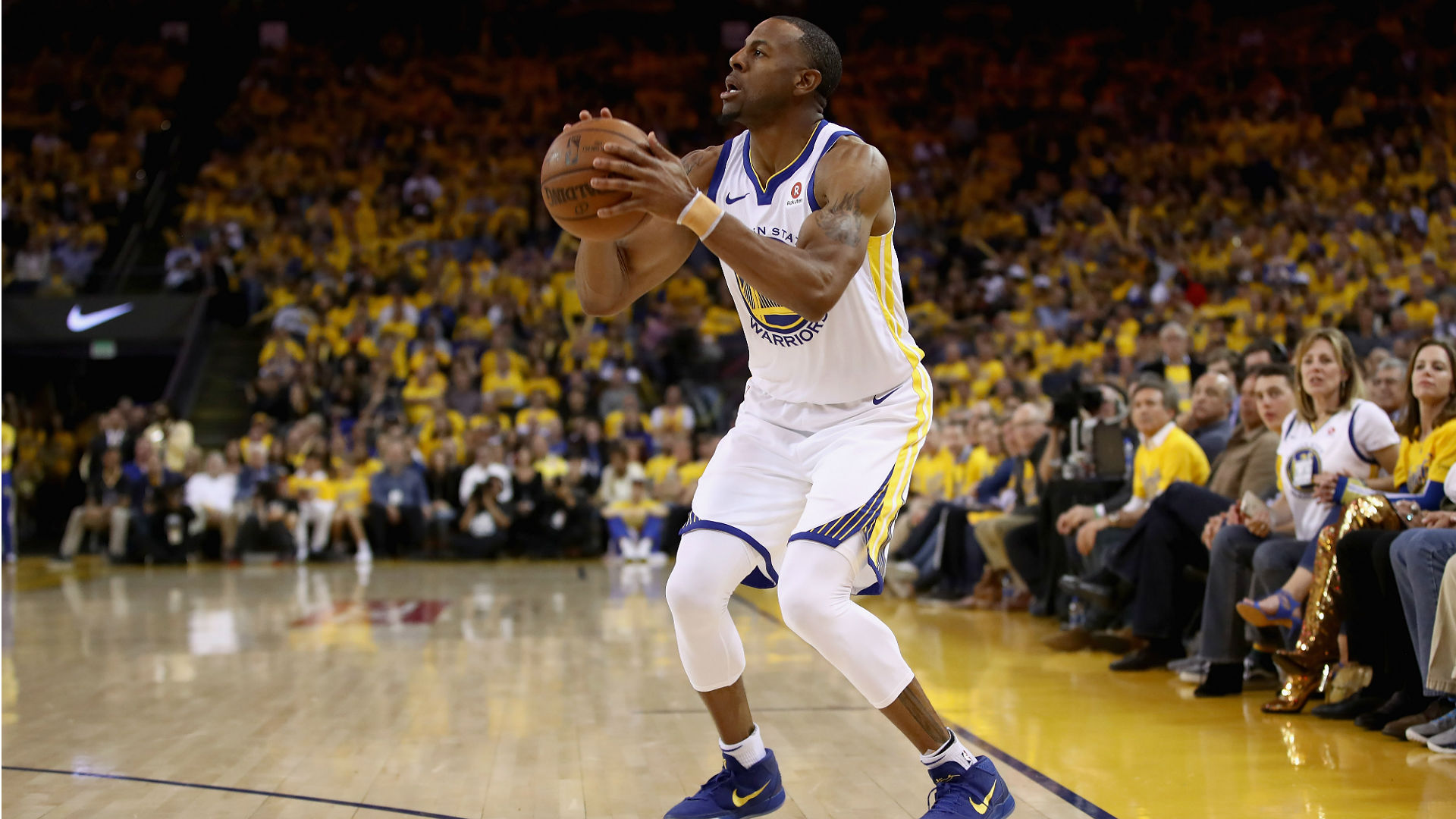 Andre Iguodala upgraded to questionable for Game 3 vs. Cavs