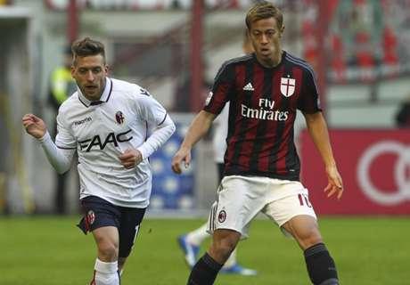 AC Milan 0-1 Bologna: Giaccherini strikes