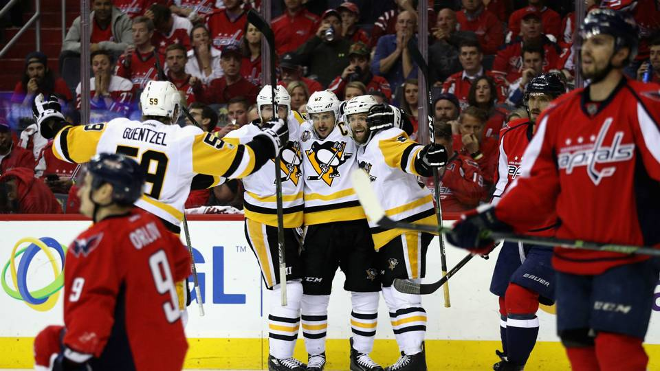 NHL playoffs 2017: Capitals can't shake curse as Penguins prevail in Game 7