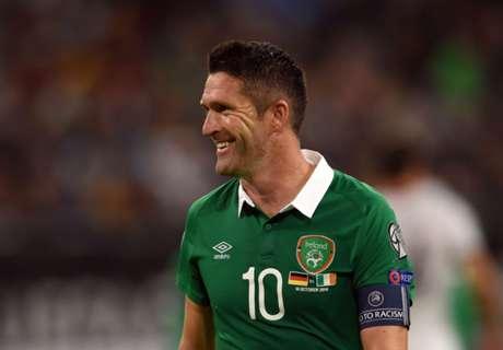 Keane quits international soccer