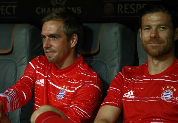 Guardiola lauds 'exceptional' Bayern veterans Lahm & Alonso as Gerrard hails ex-colleague