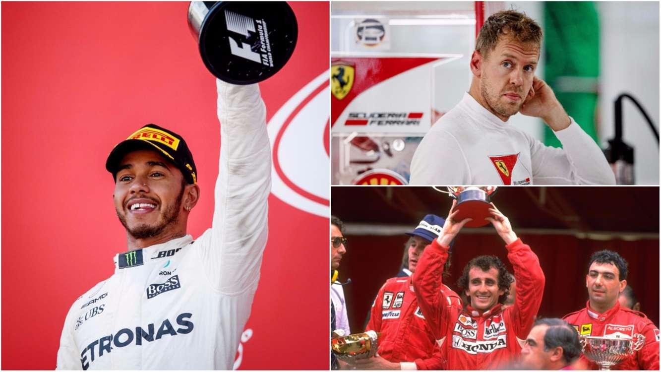 Memorable F1 title comebacks serve as cautionary tales for Hamilton