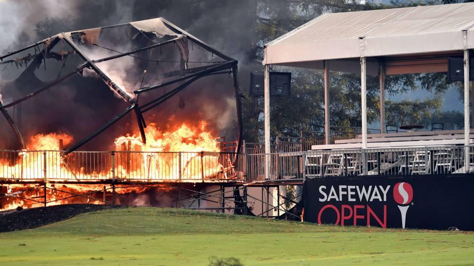 Safeway Open Napa Fire
