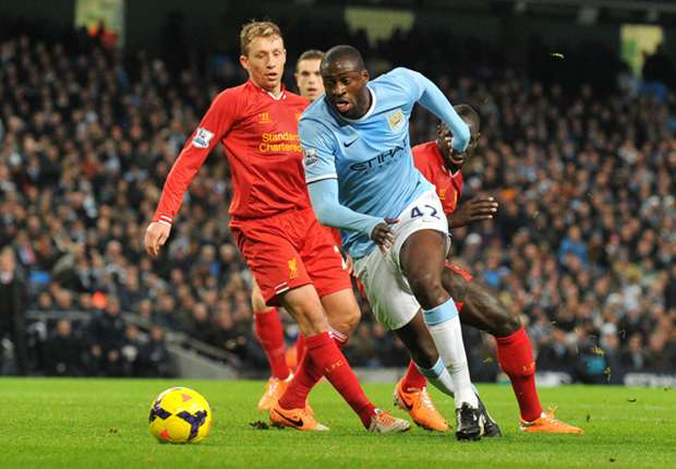 Yaya Toure: Liverpool trip will decide title