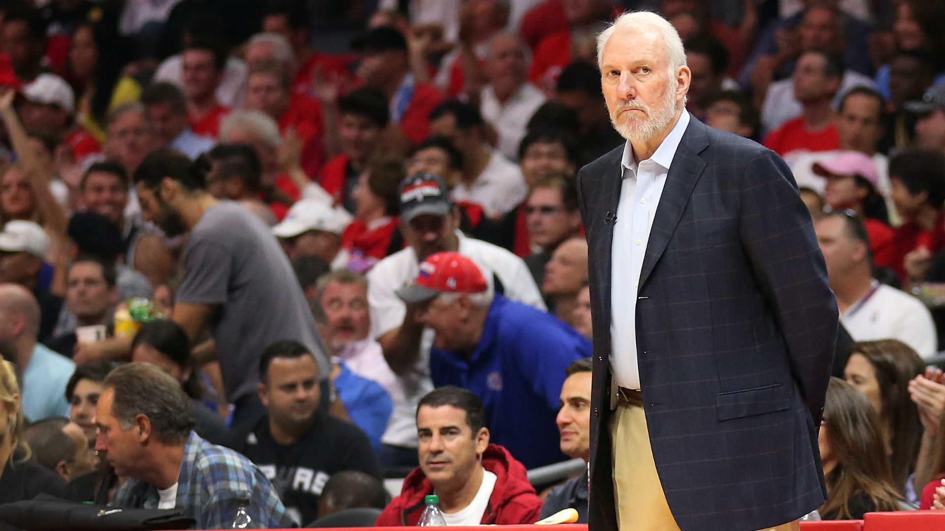 Popovich on Hack-a-Shaq: 'If someone can't shoot free throws, that's their problem'