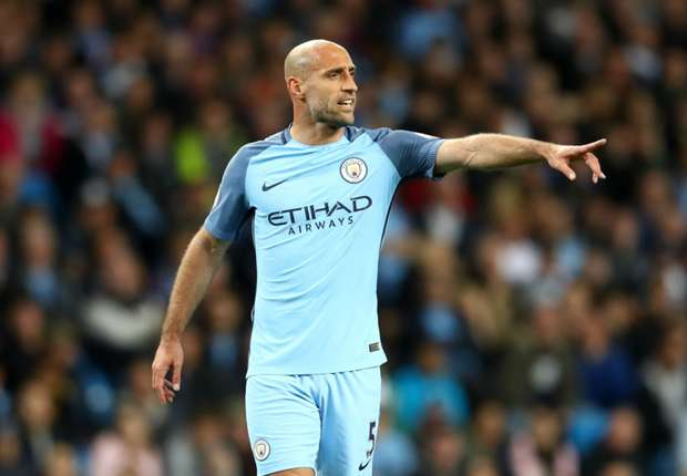 Manchester City full-back Pablo Zabaleta