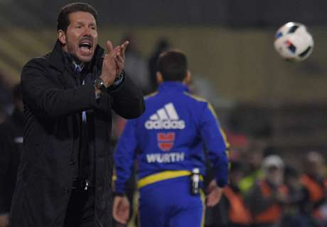 Simeone: Atletico not through yet