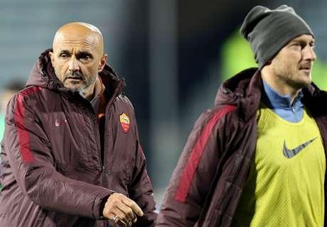 Totti's wife slams 'small man' Spalletti