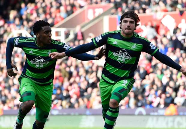 Stoke City 2-2 Swansea City: Battling Swans rescue a point