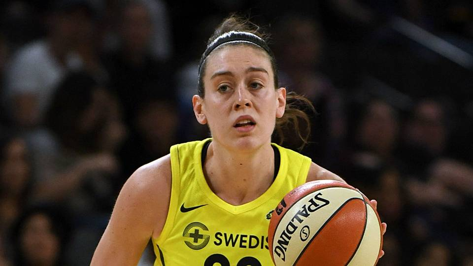 Seattle Storm's Breanna Stewart named WNBA MVP