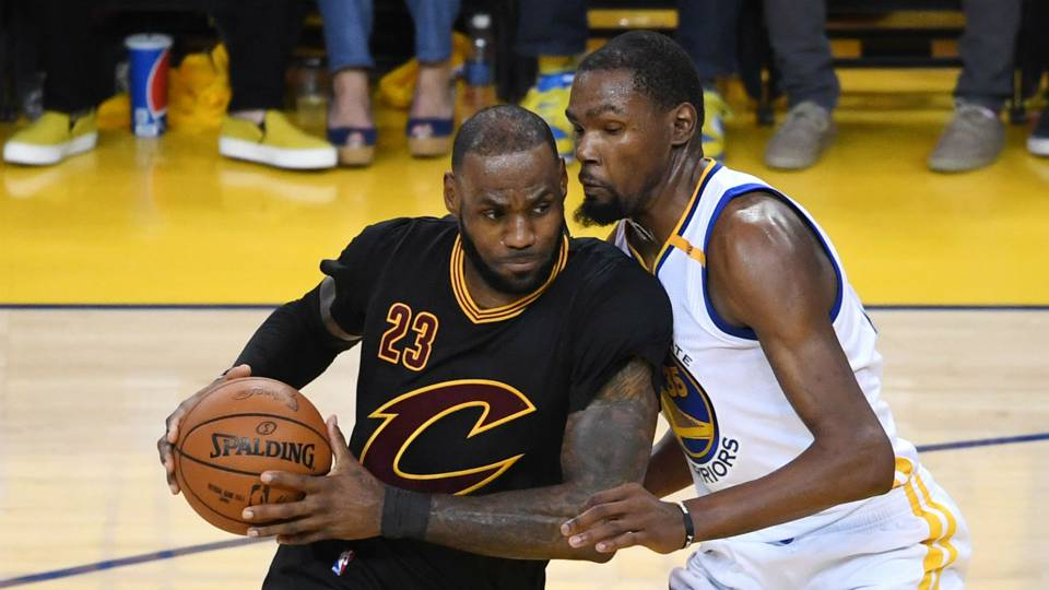 NBA admits refs missed Kevin Durant's late fouls on LeBron James | NBA | Sporting News