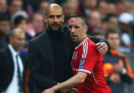 Guardiola still loves Ribery