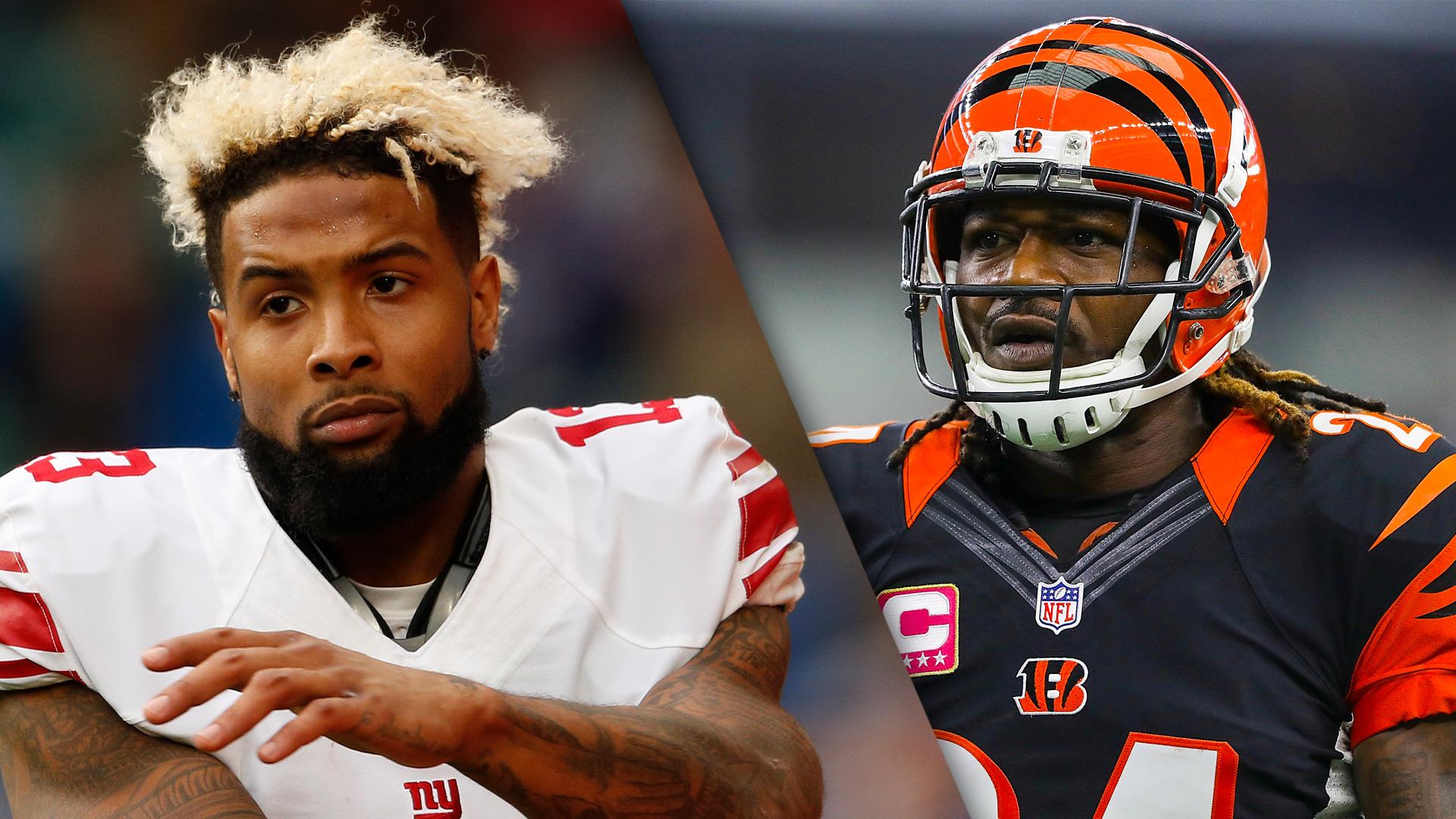 Adam Jones Respects Odell Beckham Jr Giants WR Should Respect Bengals CB Too