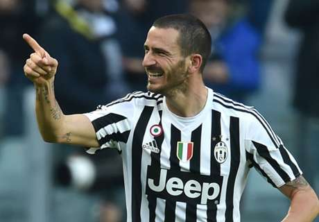 Bonucci: Juve hungry for Derby d'Italia
