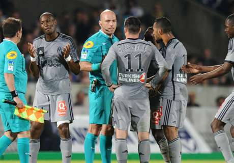 Marseille suffer Bordeaux blow