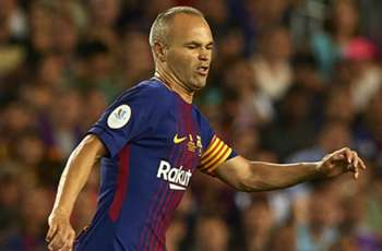 Iniesta to miss Supercopa decider