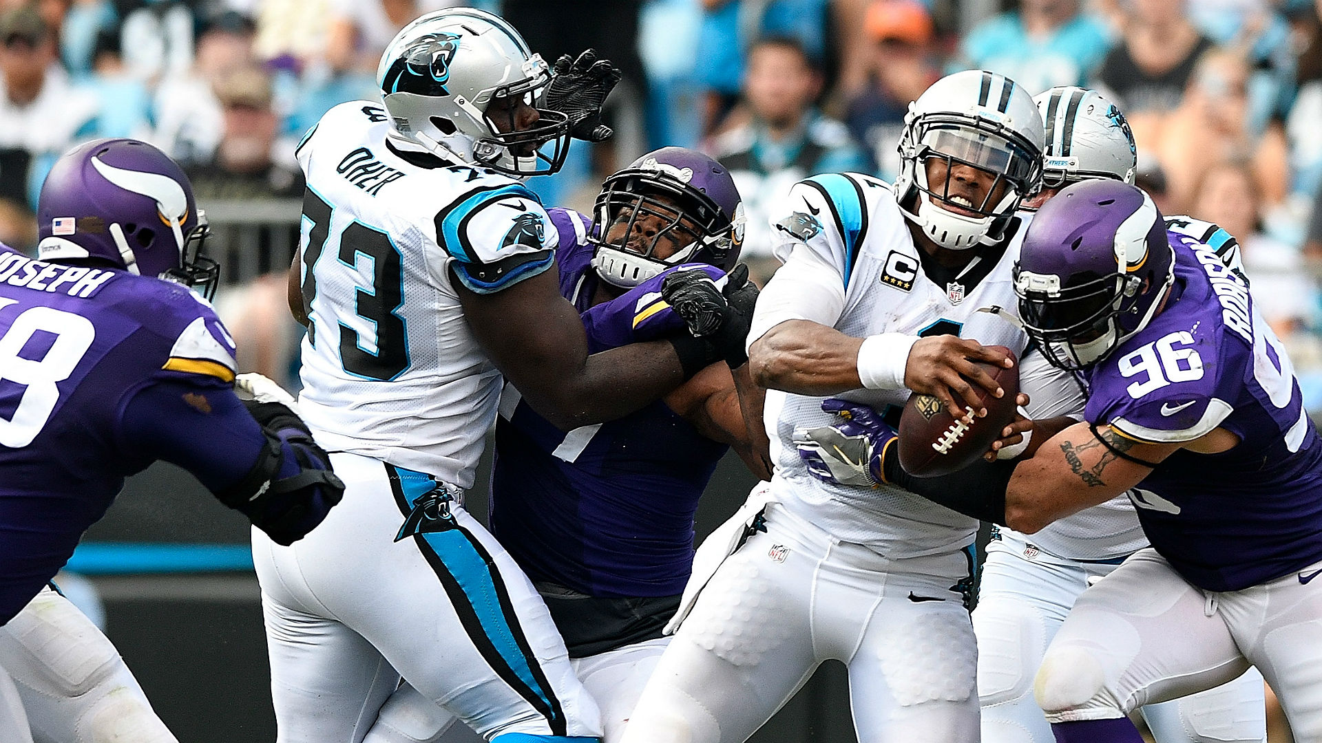 Upon Further Review: Minnesota Vikings pummel Cam Newton, Carolina Panthers