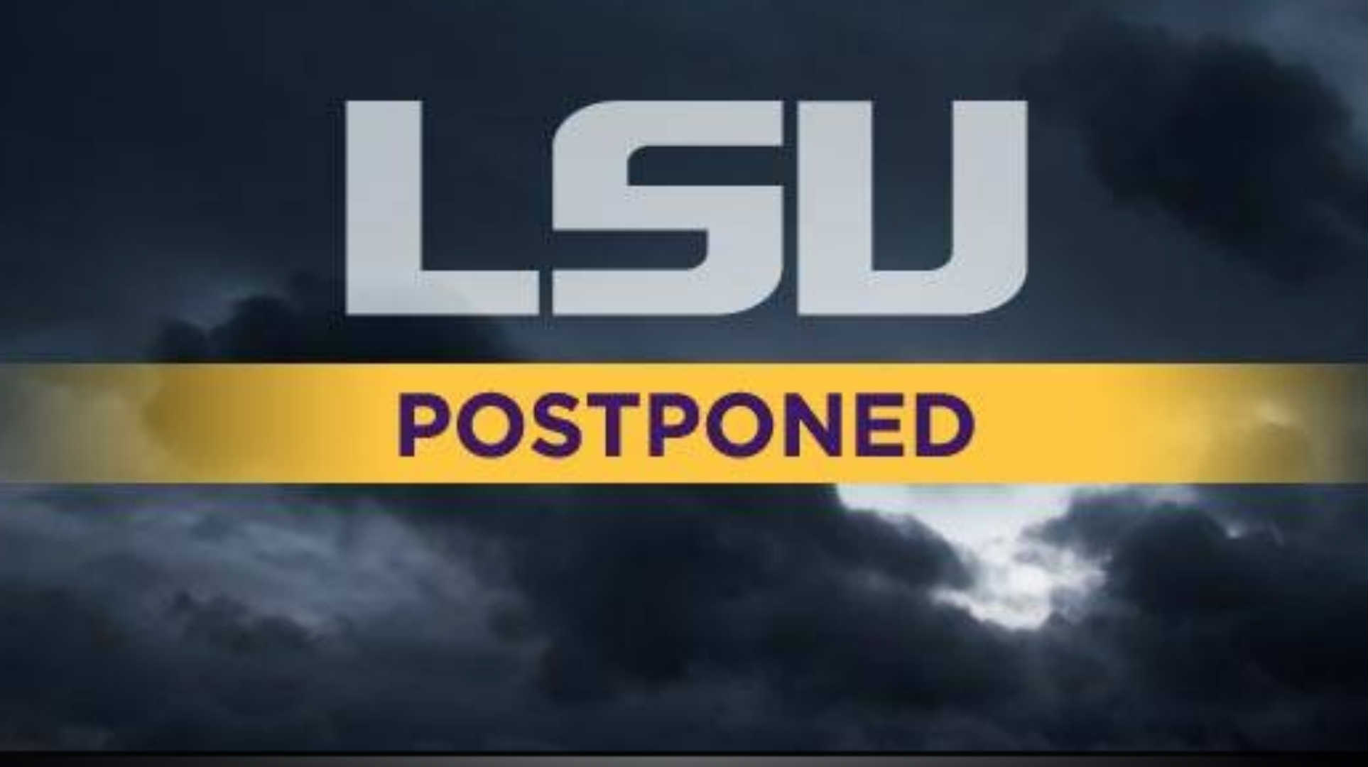 Tigers rained out