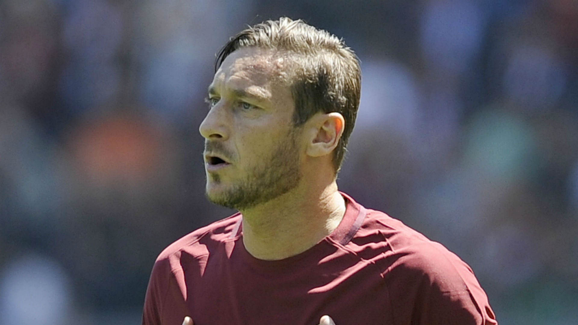 Roma coach Spalletti exasperated over Totti situation