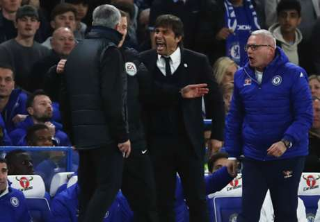 Conte dismisses 'stupid' Mourinho feud