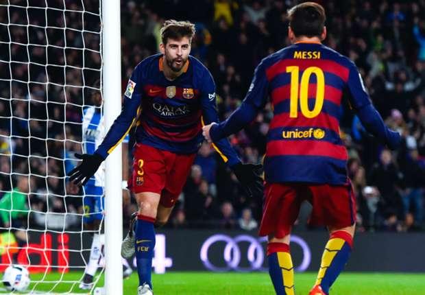 Pique mocks Espanyol fans' ability to fill their ground