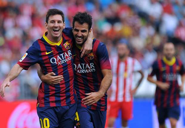 Fabregas: We congratulated Messi for coming second in Ballon d'Or