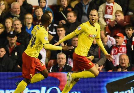 Ighalo's Watford gain promotion to EPL